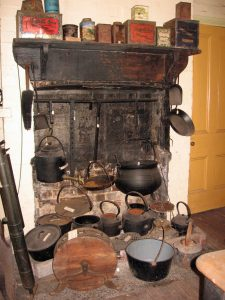 Old Kitchen pots and kettles