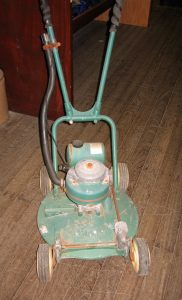 Early Victor lawn mower